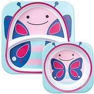 Skip hop Zoo Jedálenská súprava - Motýlik - Jedálenská sada pre deti