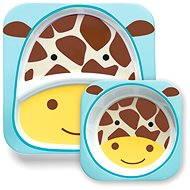 Skip hop Zoo Jedálenská súprava - Žirafa - Jedálenská sada pre deti