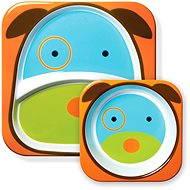Skip hop Zoo Jedálenská súprava - Psík - Jedálenská sada pre deti