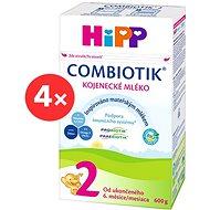 HiPP 2 BIO Combiotik - 4x 600g - Dojčenské mlieko
