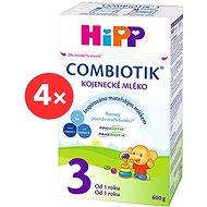 HiPP 3 Junior Combiotik - 4x 600g - Dojčenské mlieko