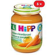 HiPP BIO Karotka so zemiakmi - 6x 125g - Detský príkrm