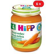 HiPP BIO Prvé mrkva - 6x 125g - Detský príkrm