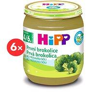 HiPP BIO Prvá brokolica - 6x 125g - Detský príkrm