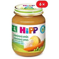 HiPP BIO Zeleninová zmes - 6x 125g - Detský príkrm