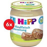 HiPP BIO Hovädzie mäso - 6x 125g - Detský príkrm