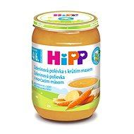 HiPP BIO Zeleninová polievka s morčacím mäsom - 6x 190g - Detský príkrm