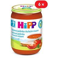 HiPP BIO Paradajková polievka s kuracím mäsom - 6x 190g - Detský príkrm