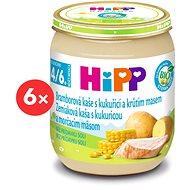 HiPP BIO Zemiakové pyré s kukuricou a morčacím mäsom - 6x 125g - Detský príkrm
