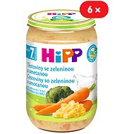 HiPP BIO Cestoviny so zeleninou a smotanou - 6x 220g - Detský príkrm