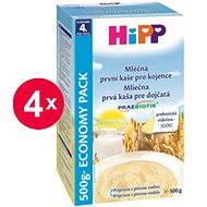 HiPP Mliečna prvá kaša pre dojčatá Praebiotik - 4x 500g - Mliečna kaša