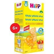 HiPP BIO Detské jablkové keksy - 6x 150g - Sušienky