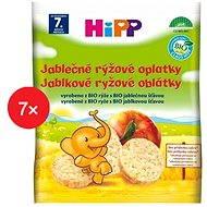 HiPP BIO Jablkové ryžové oblátky - 7x 30g - Sušienky