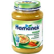 Hamánek Kura so zeleninou a kuskusom 6x 190g - Detský príkrm