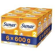 Sunar Complex 2 – 6× 600 g - Dojčenské mlieko
