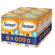 Sunar Complex 4 – 6× 600 g - Dojčenské mlieko