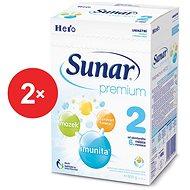 Sunar Premium 2 - 2x 600g + DÓZA - Dojčenské mlieko