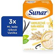 Sunarka vanilková kašička - 3x 225g + DARČEK - mliečna kaša