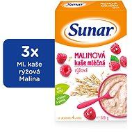 Sunarka malinová kašička - 3x 225g + DARČEK - mliečna kaša