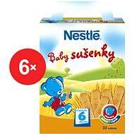 Nestlé Baby sušienky - 6x 180g - Sušienky