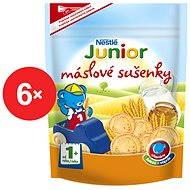 Nestlé JUNIOR Maslové sušienky 6x 180g - Sušienky