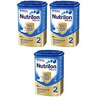 Nutrilon 2 Pronutra pokračovací mléko 3 × 800 g - Dojčenské mlieko