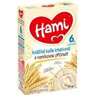 Hami Mliečna kaša krupicová s vanilkovou príchuťou 225 g - mliečna kaša