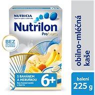 Nutrilon Profutura mliečna kaša s banánom a marhuľou 225 g, 6+ - Mliečna kaša