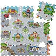 Chicco Penové puzzle Mesto 30 × 30 cm, 9 ks - Skladačka