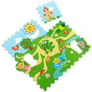 Chicco Puzzle penové Hrad 30 × 30 cm 9ks - Skladačka