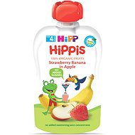 HiPP BIO 100% ovocie Jablko-Banán-Jahoda 100 g