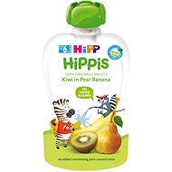 HiPP BIO 100% ovocie Hruška-Banán-Kiwi 100 g - Detský príkrm