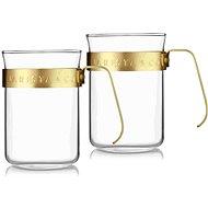 Barista&Co set šálků 2 šálků Midnight Gold