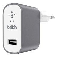 Belkin USB 230V MIXIT ^ Metallic sivá - Nabíjačka