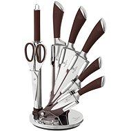 Súprava nožov BerlingerHaus v stojane 8 ks Infinity Line hnedá - Súprava nožov