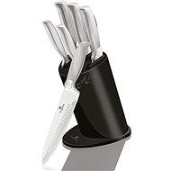 BerlingerHaus Súprava nožov v stojane Carbon Metallic Line 6 ks