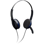 BIGBEN PS4GAMINGHEADSET čierno-modrý - Headset