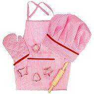 Ružový set šéfkuchárky - Herný set