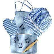Modrý set šéfkuchárky - Herná súprava