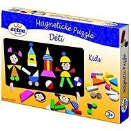 Detoa Magnetické puzzle Deti - Puzzle