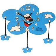 Detské drevené hodiny - Mrak s mráčiky - Hodiny do detskej izby
