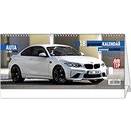 BALOUŠEK pracovní kalendář - rychlá auta - Stolový kalendár