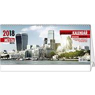 BALOUŠEK pracovní kalendář - evropská města - Stolový kalendár