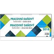 BALOUŠEK pracovní kalendář - daně CZ/SK - Stolový kalendár