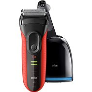BRAUN Series 3 3050 Clean&Charge Red - Holiaci strojček