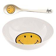 ZAK Snídaňový set SMILEY 17cm, bílý - Súprava