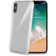 CELLY Gelskin pre Apple iPhone X bezfarebný - Ochranný kryt