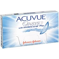 Acuvue Oasys (6 šošoviek) dioptrie: -2,25, zakrivenie: 8,40 - Kontaktné šošovky