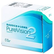 PureVision 2 HD (6 šošoviek) dioptria: -2.50, zakrivenie: 8.60 - Kontaktné šošovky