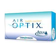 Air Optix Aqua (6 šošoviek) dioptrie: -3.50, zakrivenie: 8.60 - Kontaktné šošovky